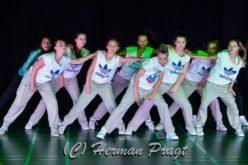 Upstairs Dance & Fit 2e en 3e bij NK streetdance.